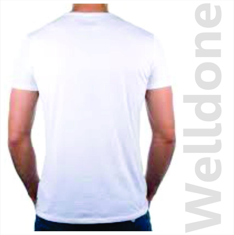 playera cuello redondo sublimable blanca tactoalgodón 50pzas. Cargando zoom. 541c91f06c2f6