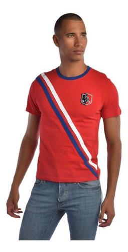 playera custom fit u.s. polo multicolor usltm447634  hombre