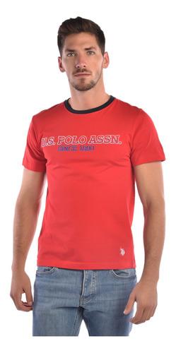 playera custom fit u.s. polo muticolor usltm447640 hombre
