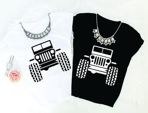 playera dama, jeep, trendy, #jeepgirl,100% algodon 02