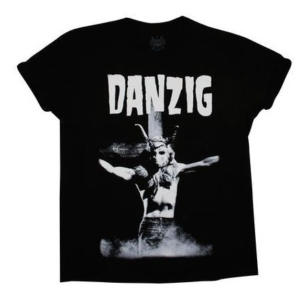 playera danzig black cross