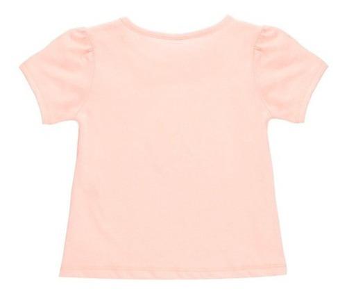 playera de algodón estampado de bebé niña c&a