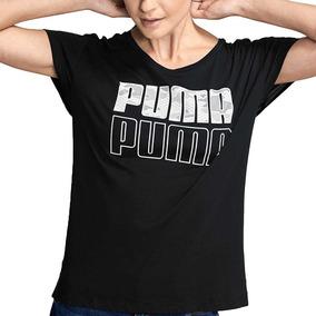 playeras negras mujer puma