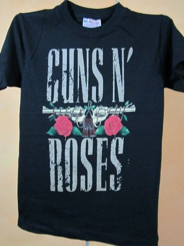 playera de guns & roses