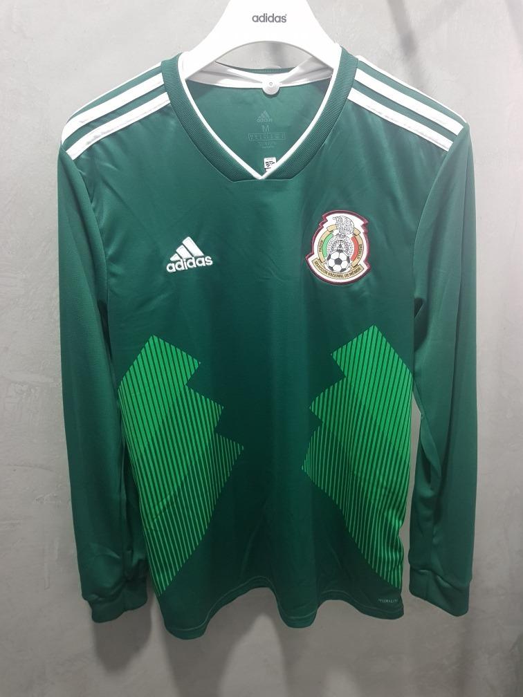 Playera De La Seleccion Mexicana Local Original adidas -   969.00 en ... c117a84571cc3