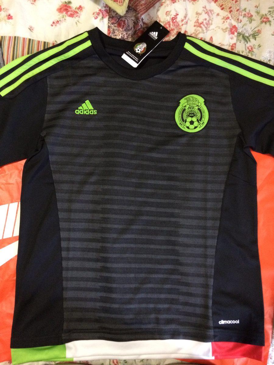 dc3bb7cf37af6 Playera De La Selección Mexicana Negra -   499.00 en Mercado Libre