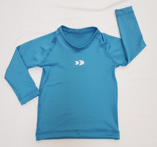 playera de licra para niño(a) manga larga o corta dry-fit