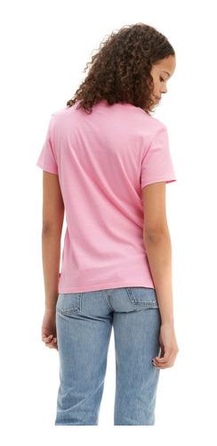 playera de mujer levis x super mario rosa