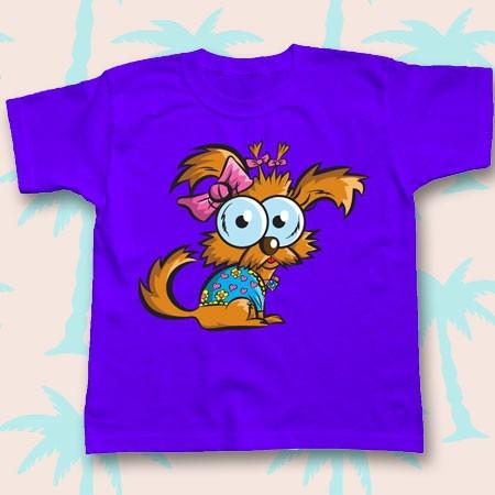 playera de niño y niña mare blue ojones ratón ratona iguana
