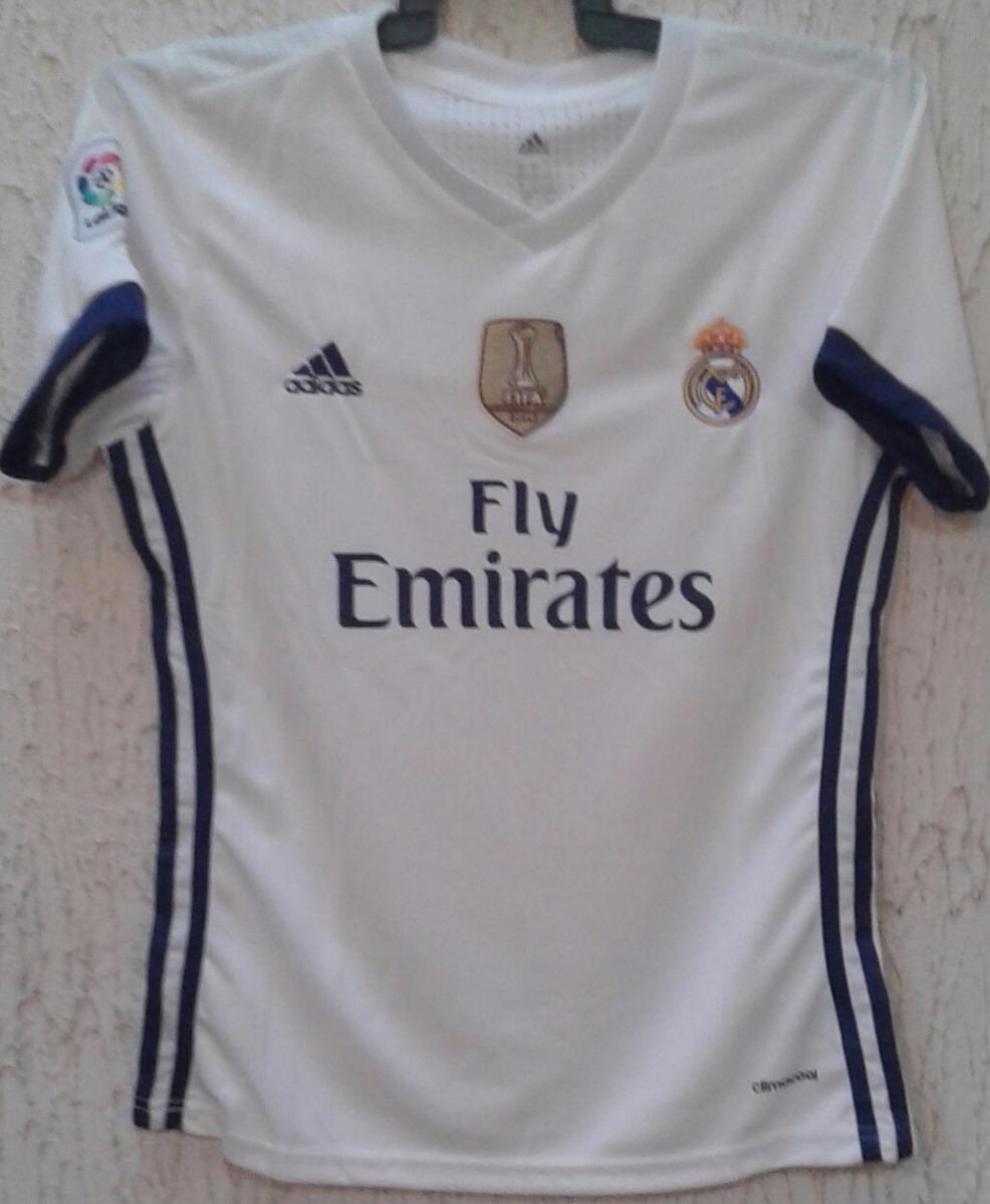 4dddf8ad8adf3 Playera Del Real Madrid Blanca De Mujer. -   450.00 en Mercado Libre