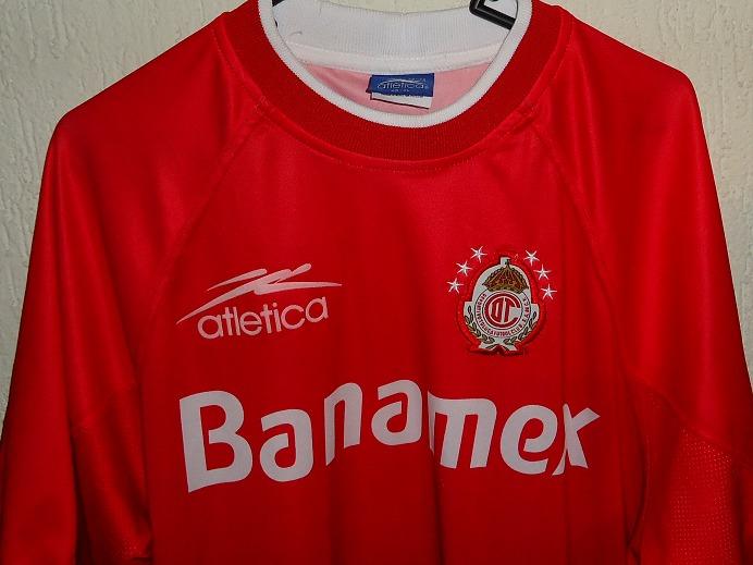 b258d9d824729 Playera Del Toluca Vintage Atletica Producto Oficial -   549.00 en ...