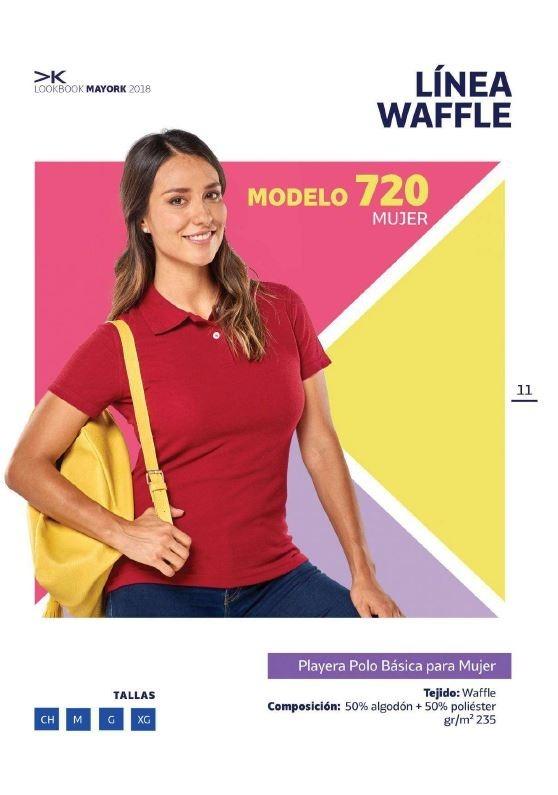 Playera Deportiva Basica Mujer Tipo Polo Mayork -   233.00 en ... 305b6fdfc4647