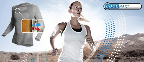 playera deportiva flash gym - tecnología coolmax