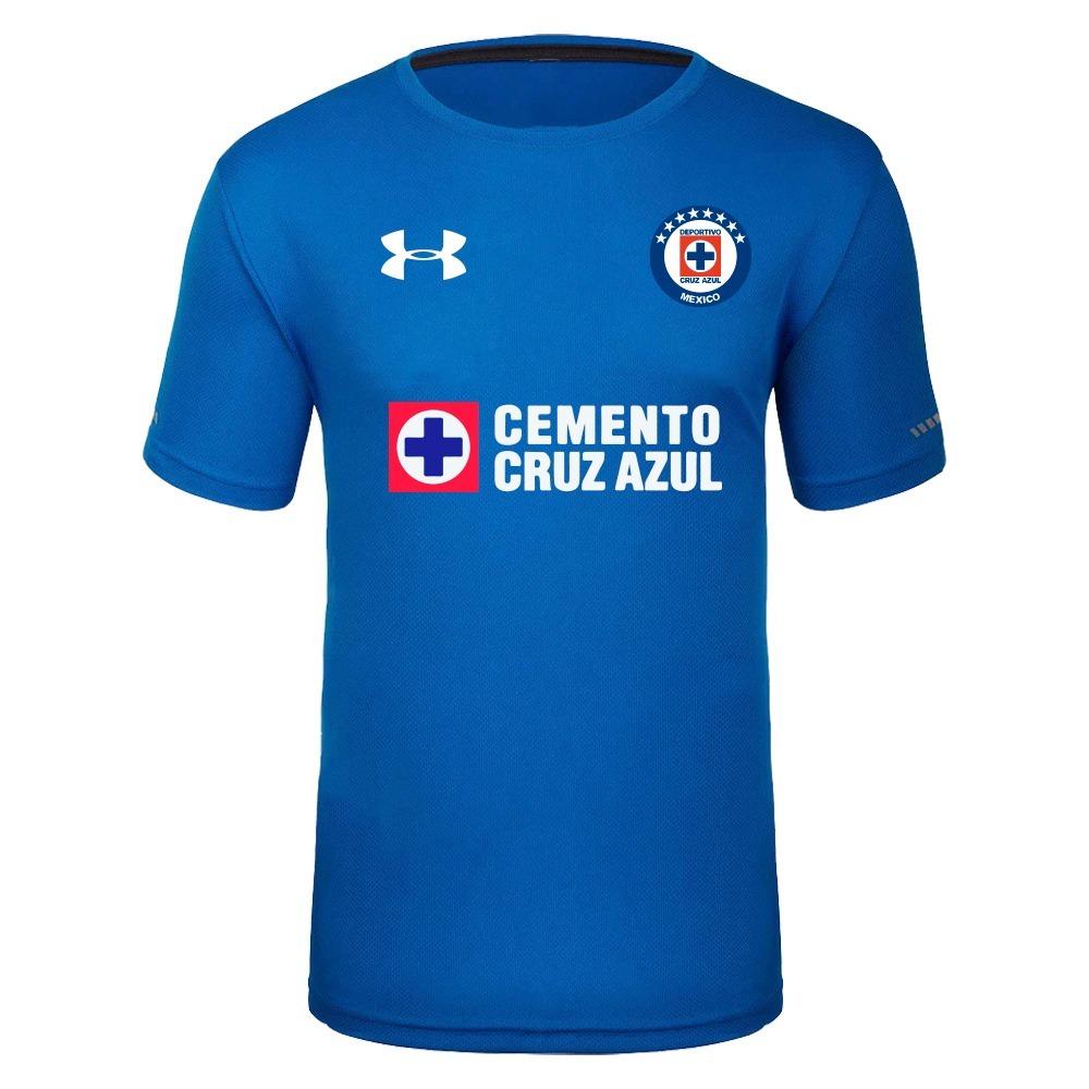 3801061c4a Playera Deportiva Para Ejercicio Cruz Azul - $ 399.00 en Mercado Libre