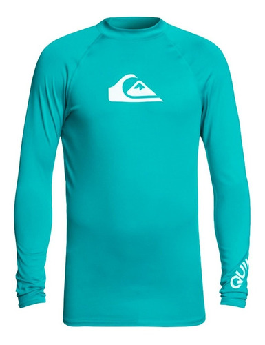 playera deportiva para surf ajustable verde quiksilver