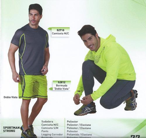 playera deportiva tech fit, dry fit y térmica.