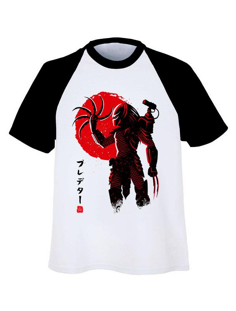 Playera Depredador Pelicula Estilo Japones Alien Geek Regalo ... 3817d74b760ef