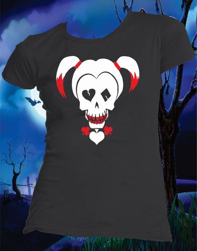 playera dia de muertos halloween star wars, catrina, joker