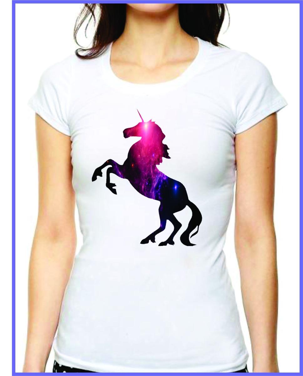 Playera Diseño Unicornio Tumblr -   125.00 en Mercado Libre af8c5bf27450f