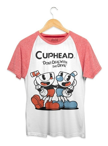 playera doshik caballero cuphead  don´t deal whith the devil