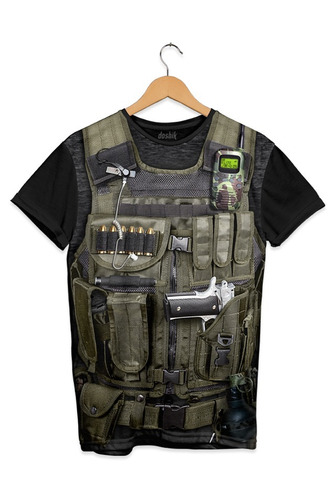 playera doshik call of duty black ops armadura soldado ops