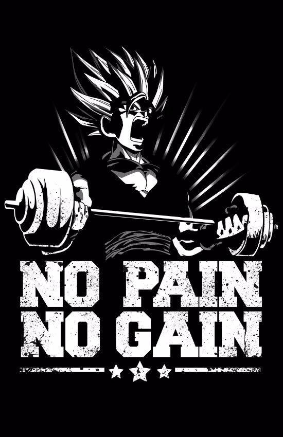 Playera Dragon Ball Goku Gym Motivacion Envio Gratis