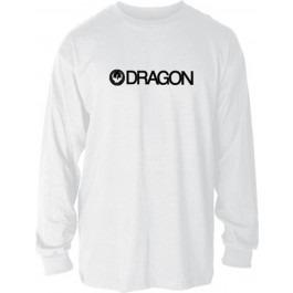playera dragon trademark hombre manga larga blanco md