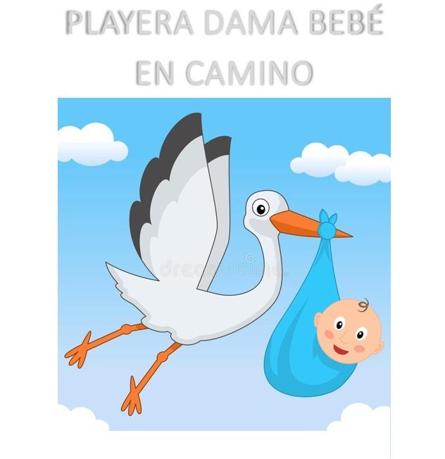 Playera blusa embarazada beb en camino baby shower oferta - Bebe en camino ...