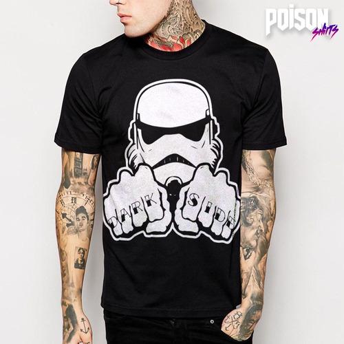 playera estampada dark side (star wars)