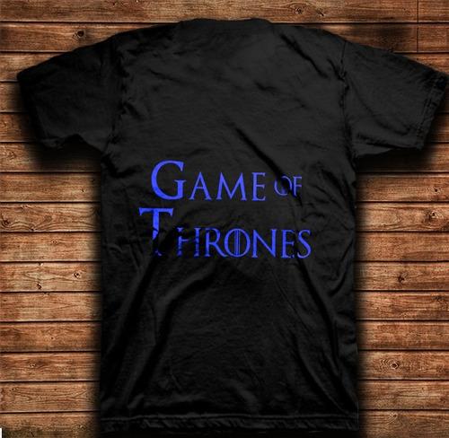 playera estampada game of thrones white walkers