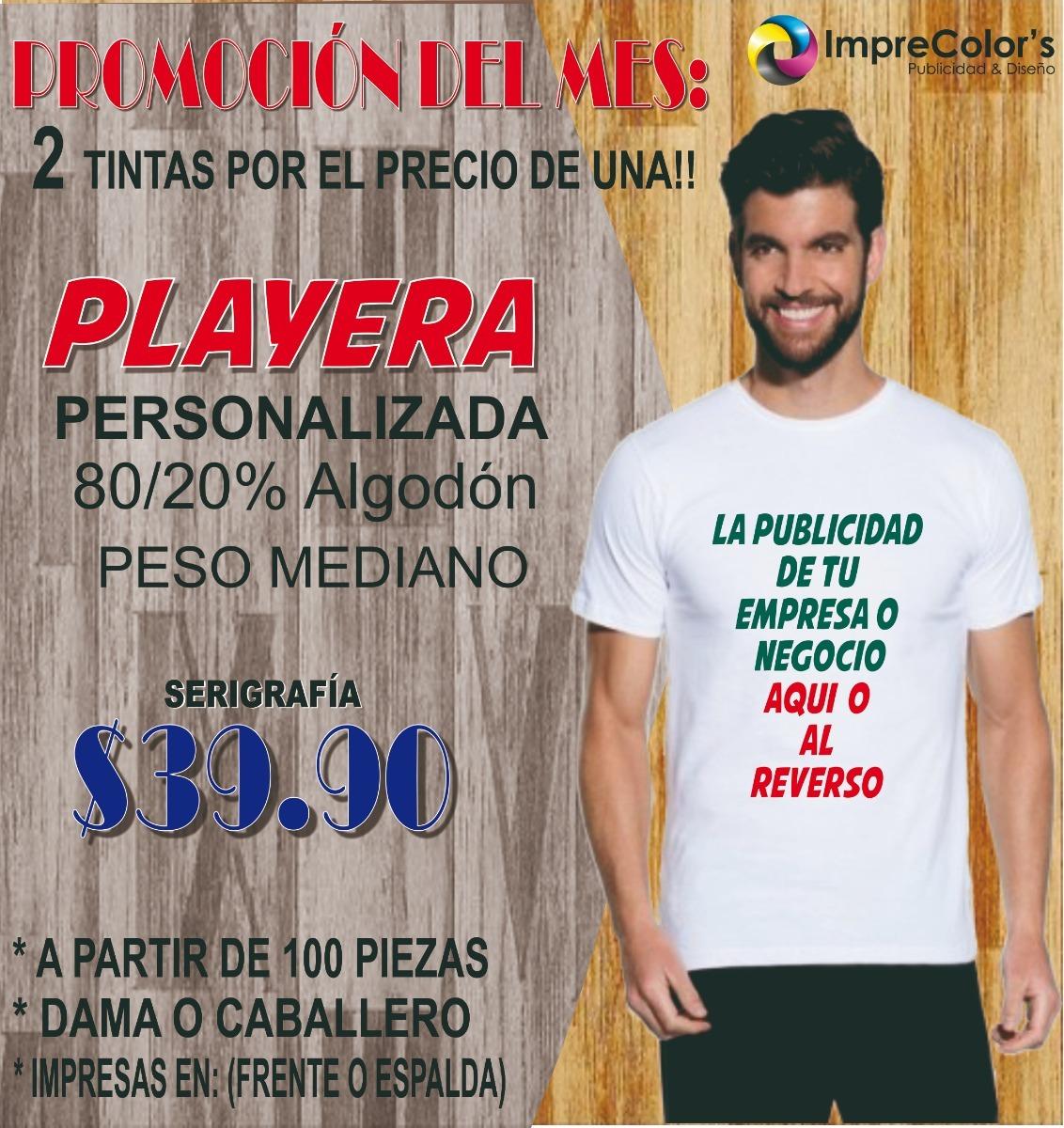 b1314ff515c0b Playera Estampado En Serigrafia 2 Tintas!! -   39.90 en Mercado Libre