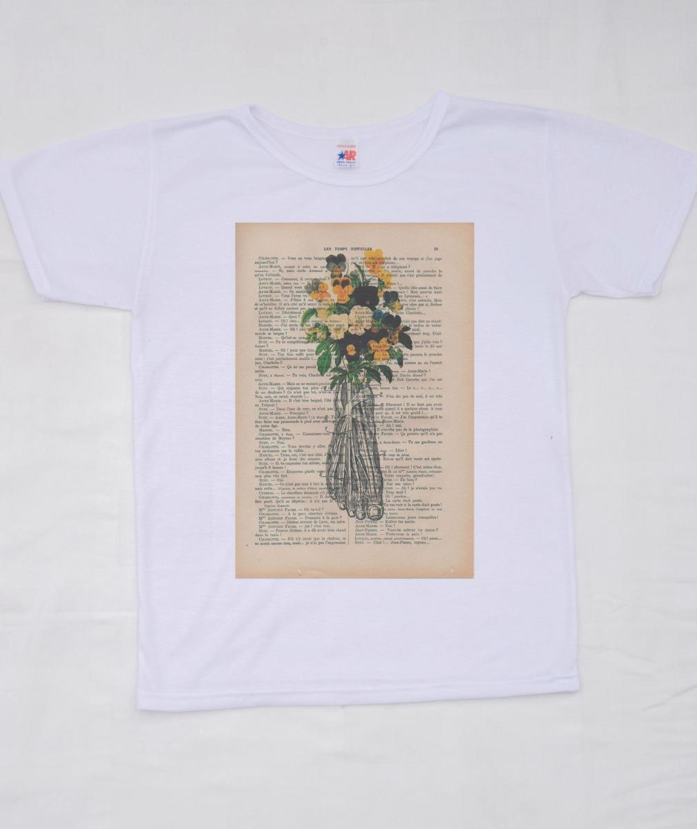 Playera Femenina Página Anatomía Pie Flores Tumblr - $ 125.00 en ...