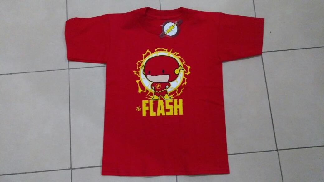 c5bae04021154 Playera Flash Niño Original Caricatura. Envio Incluido. -   299.00 ...