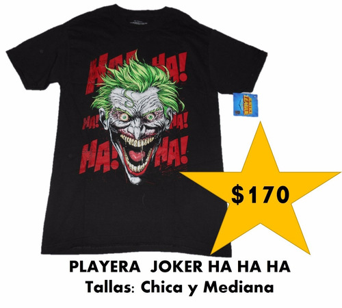 playera forever evil the joker marca toxic