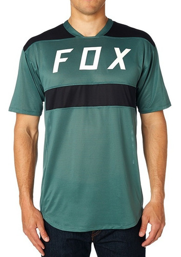 playera fox flexair ss crew