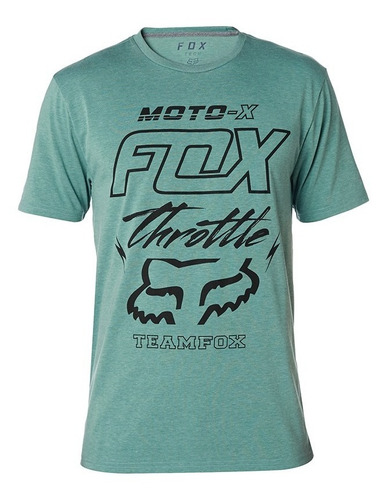 playera fox throttled ss tech