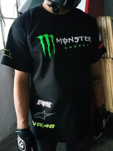 playera fox valentino rossi vr46 monster energy