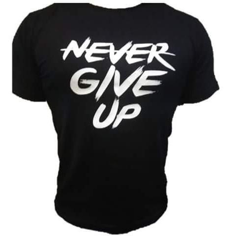 Playera Frase John Cena Never Give Up 10 Playeras Por 1000