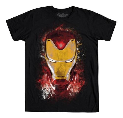 playera golden avenger mascara de latex iron man endgame