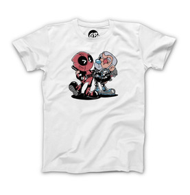 Playera Grapics Deadpool Cuphead Camiseta Geek Gamer Retro