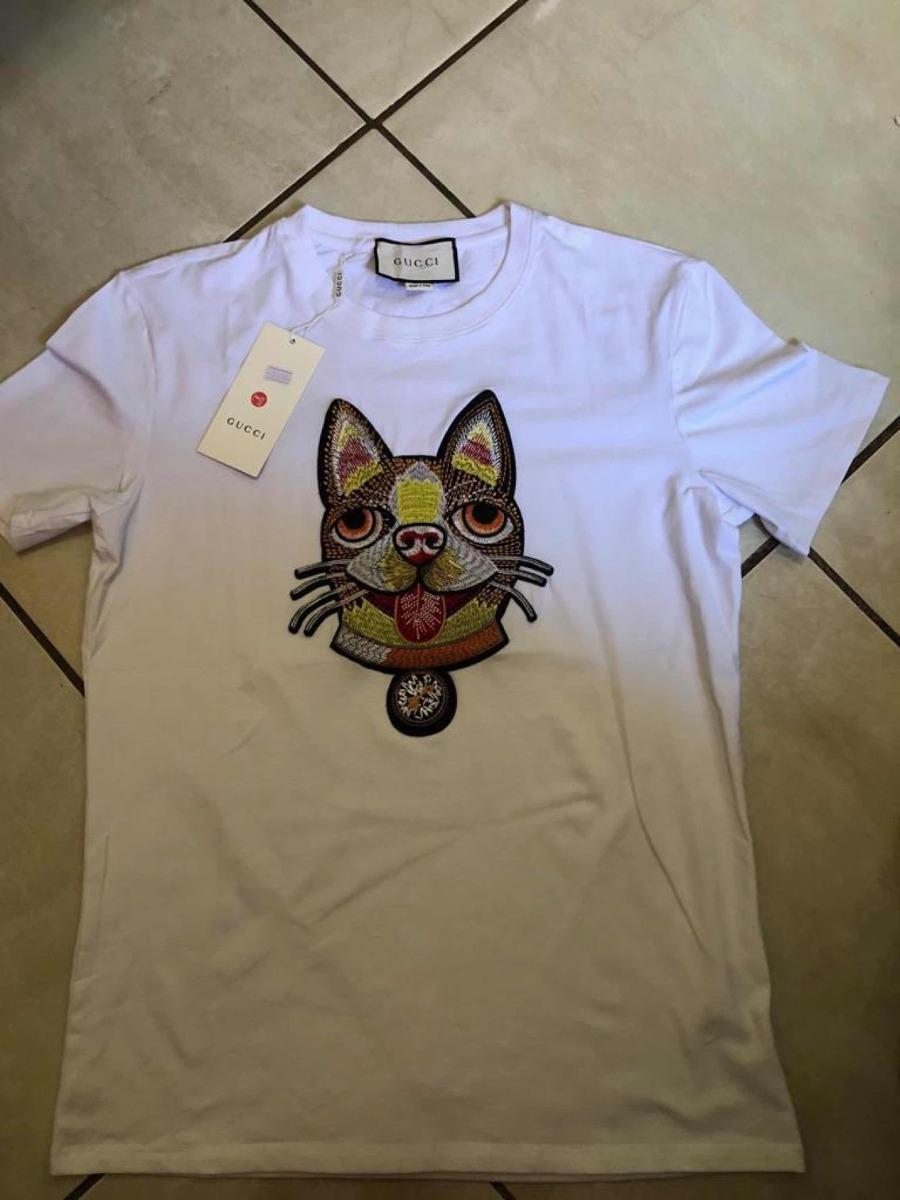 Playera Gucci Caballero Modelo Bordado Crazy Dog -   600.00 en ... 920720c049e