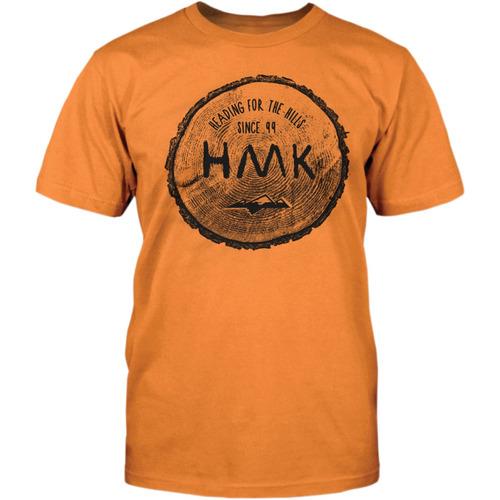 playera hmk, rounder, naranja 2xl
