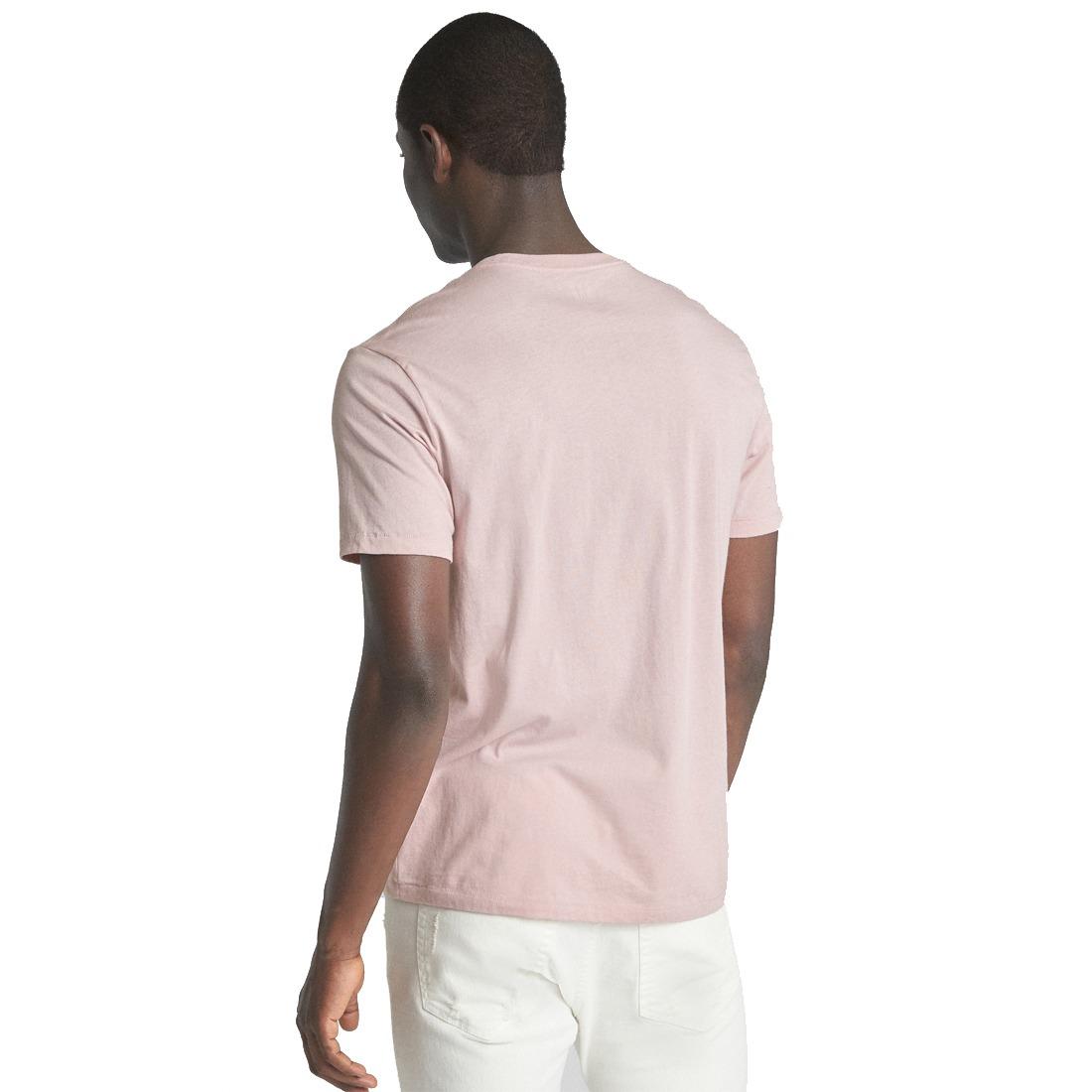Playera Gap Hombre Claro Shirt Manga T Camiseta Corta Rosa ARL4cq35jS