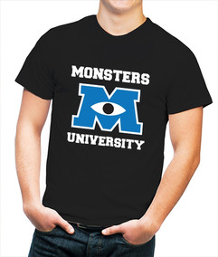 Playera Hombre Monsters University Monster Inc.