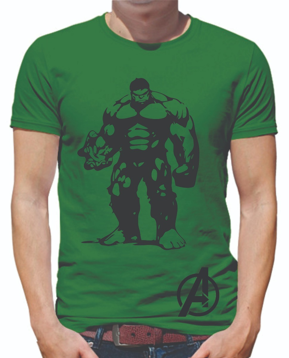 Playera Hulk Cuerpo Completo Led 100% Algodon -   199.00 en Mercado ... 7f64d302211a2