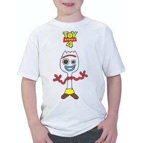 Playera Infantil Unisex Forky Toy Story 4