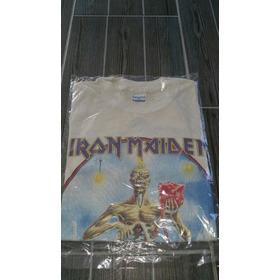 Playera Iron Maiden Vintage 1988 Antigua Seventh Son Tour