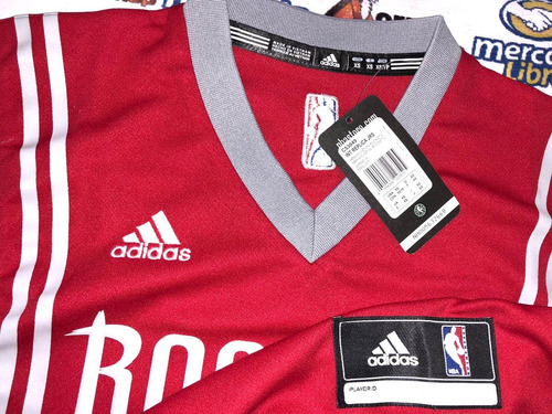 playera jersey adidas  basquetbol rockets de houston harden
