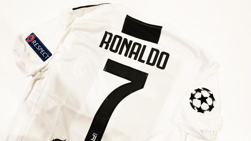 playera jersey adidas juventus 2018 - #7 ronaldo, nueva!