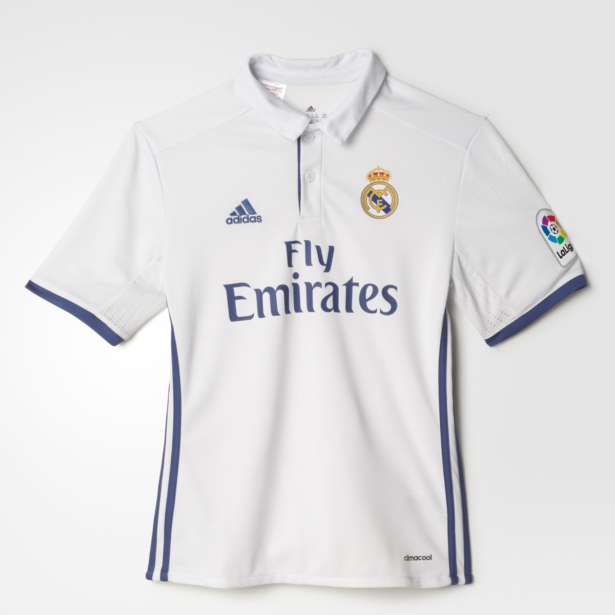 57d7bbe2cb8b4 Playera Jersey adidas Real Madrid De Local Para Niños -   464.55 en ...